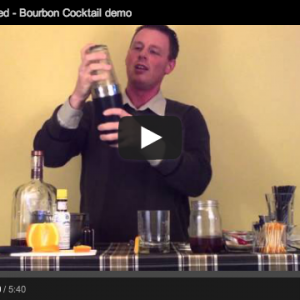 Craft Bartending - The Old Fashioned